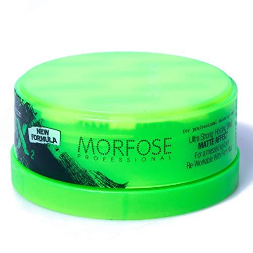 Morfose New Generation Matte Wax Styling 150ml Nr.2 Ultra Strong Strong Hold Matt Haar Wax Haarwachs Mat Hair Styling Wax Messed Up Look