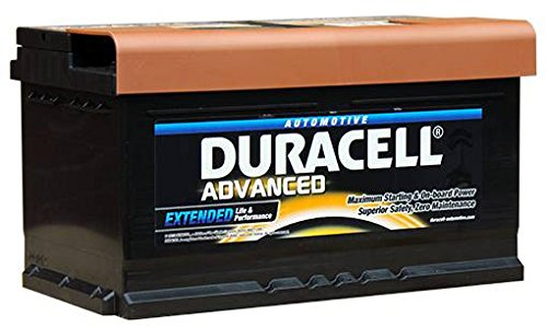 DA80 Duracell Advanced Auto Batteria 12V 80Ah (110 - DA 80)