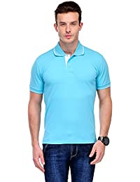 B&W Organic Cotton Polo T-Shirt - Electric Blue