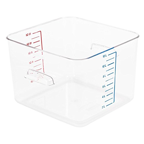 Rubbermaid J874Rubbermaid Space Saver Container, 12l