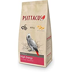 Psittacus Alimento para pájaro Agapornis Alta energía - 800 gr