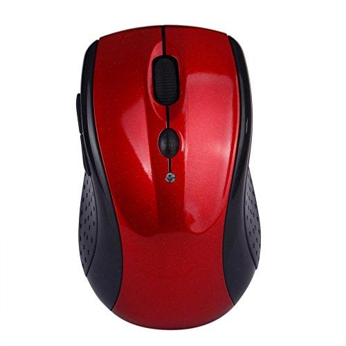 WINWINTOM Einstellbare 1600dpi 2.4G optische drahtlose Mäusemäuse für Laptop (Kostüm Mausefalle Brettspiel)