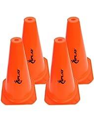 ES Training Traffic Cone - 12 Inch (Orange) x 4