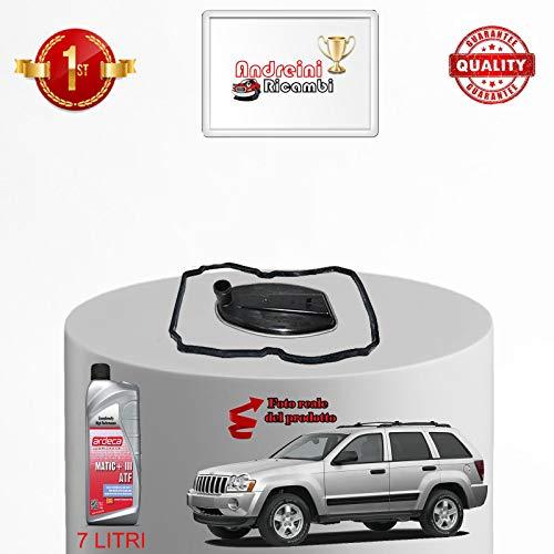 KIT FILTRO CAMBIO AUTOMATICO E OLIO GRAND CHEROKEE 3.0 CRD 160KW 2010 |1015