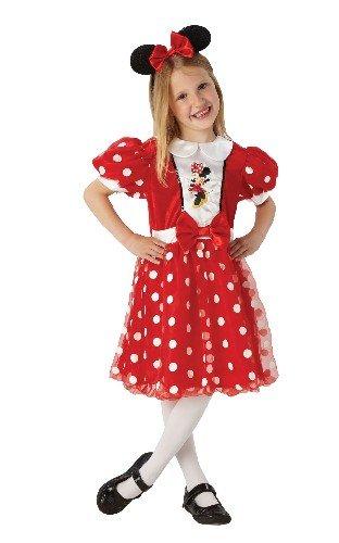 Disney Minnie™-Kostüm für Mädchen - 5-6 (Minnie Schuhe Maus Kostüm)