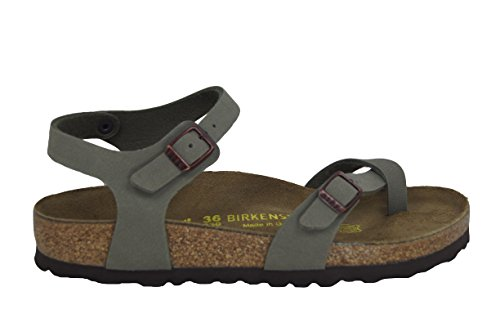 Sandali Taormina Birkenstock 310341 Lack Fossil/Schwarz (35-41) Lack fossil Schwar (Beige-Nero), marrone