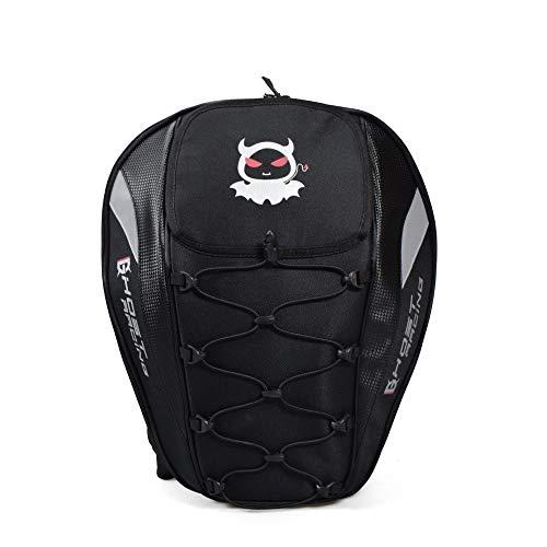 LZRDZSWYXGS Pacchetto Coda Moto Borsa da Sella indorse da Corsa Zaino Knight Helmet Engine Riding Bag Multifunzione Adatto per Gite/Escursioni/scuole
