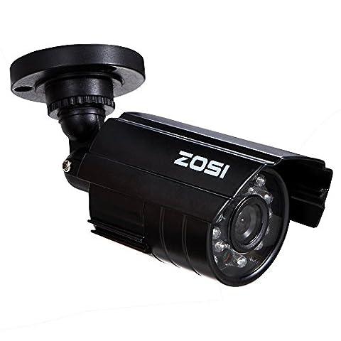 ZOSI Caméra Bullet Nouvelle Conception pour Maison et Bureau Caméra