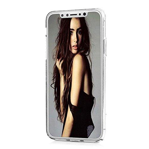 Lanveni Handyhülle für iPhone X Hülle Etui Protective Case Cover PC Hardcase Plastik Schutzhülle Handytasche mit Bunte Muster Cover Design (1x PC Hülle +1 x Kondensatorstift + 1 x HD Schutzfolie) Farbe 3