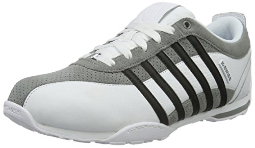 K-Swiss Herren Arvee 1.5 Low-Top, Weiß (White/Neutral Gray/Black), 41 EU