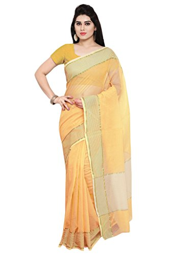 Applecreation Women\'S Super Net Sarees New Collection (Yellow_Nyk102_Free Size)