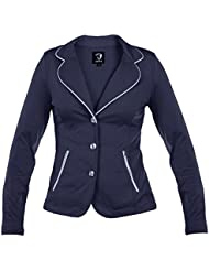 Horka Junior ligero Softshell Stretch Strass hípica competencia chaqueta