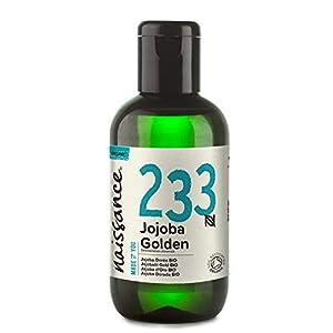 Naissance Jojobaöl Gold BIO (Nr. 233) 100ml 100% reines, kaltgepresstes, bio zertifiziertes Öl