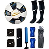 Club Football Kit (One Football Kit Bag + One Pair Football Socks + One Pair UV Protection Arm Sleeves) By Nice - B0789GJ7P9