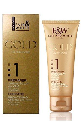 Fair & White Gold Crème éclaisissant 75 ml