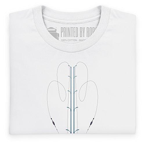 Rod Tree T-Shirt, Herren Wei