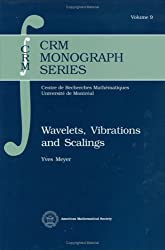 Wavelets, Vibrations and Scalings (Crm Monograph Series)