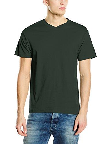 Stedman Apparel Herren T-Shirt Classic-t V-neck/st2300 Grün - Bottle Green