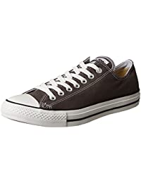 Converse Chuck Taylor All Star Season Ox, Zapatillas Unisex, Gris (Anthracite), 48