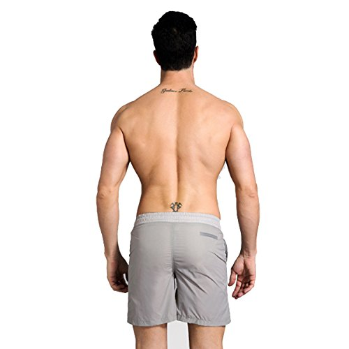 Vêtements Hommes Quick Dry Couleur Solide Respirant Vêtements Décontractés Swim Trunk Tailles Et Couleurs Assorties G