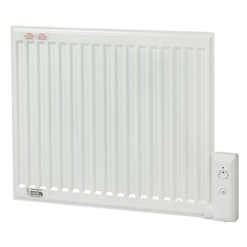 Adax APO Oil Filled Electric Thermostatic Wall Mounted Radiator, Panel Heater, Plug In or Portable 350-1250W