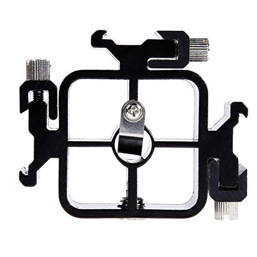 Triple Hot ShoE Mount Adapter Flashlight Stand Umbrella Holder Bracket for Canon Nikon Pentax -