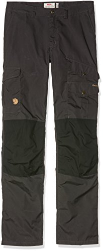 Fjällräven Damen Barents Pro Curved Trousers W Lange Hose Dk Grey