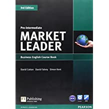 Market Leader. Pre-Intermediate Coursebook (with DVD-ROM incl. Class Audio)
