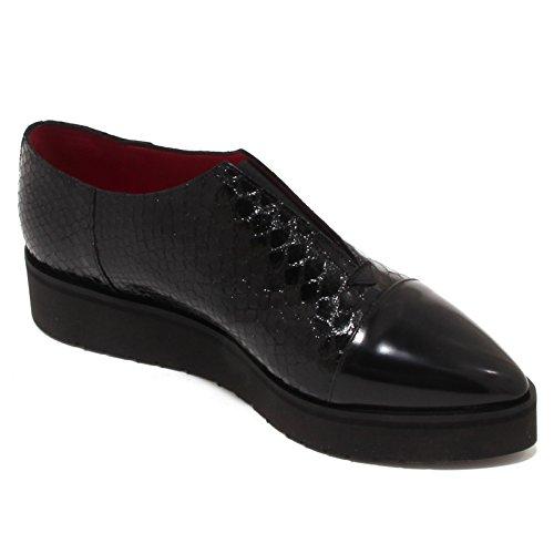 4224p Chaussure Sans Talon Compensé Uno 8 One Chaussure Noire Sabot Femme Femme Noir