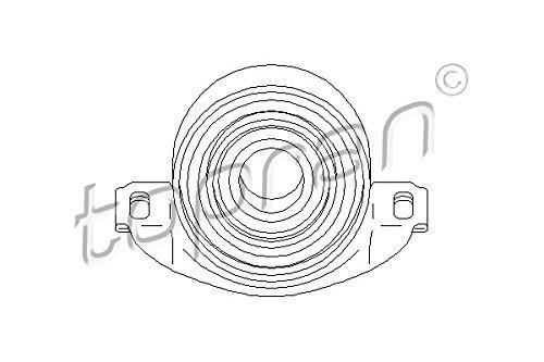 Preisvergleich Produktbild TOPRAN Lagerung für Gelenkwelle,  401 306