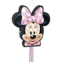 Unique Party Disney Minnie Mouse Pinata, Shaped Pull String