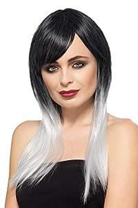 Smiffys 49119 - Peluca para mujer, talla única, color gris