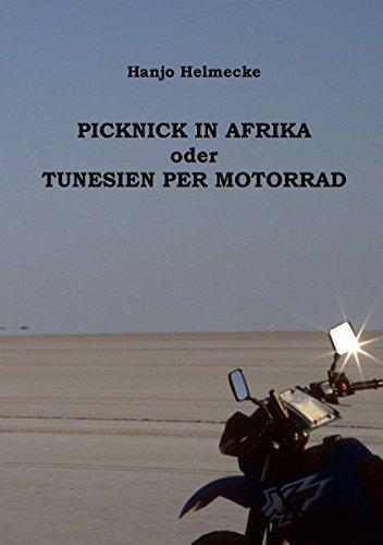 Picknick in Afrika oder Tunesien per Motorrad
