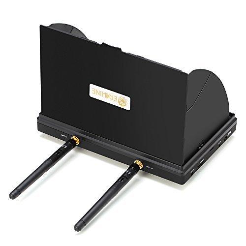 Eachine LCD5802D FPV Monitor mit DVR Dual Empfänge 5.8G 40CH 7 Inch eingebaute Batterie - 4