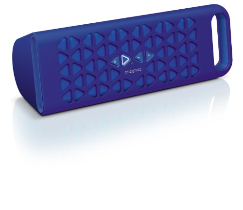 Creative Labs MF8180 - Altavoz portátil (Bluetooth, 3.5 mm), azul