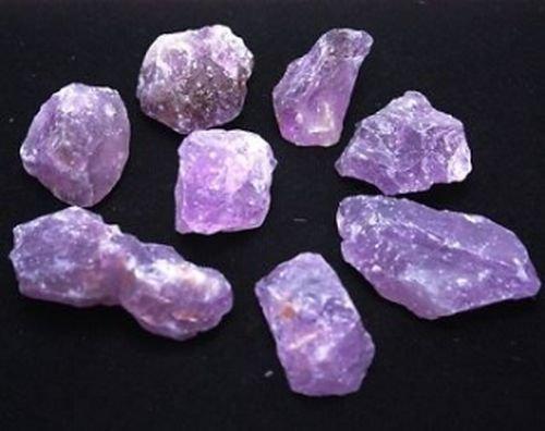 Amethyst Rohsteine 500 gr. (Grundpreis 1 kg = 13,80 €)