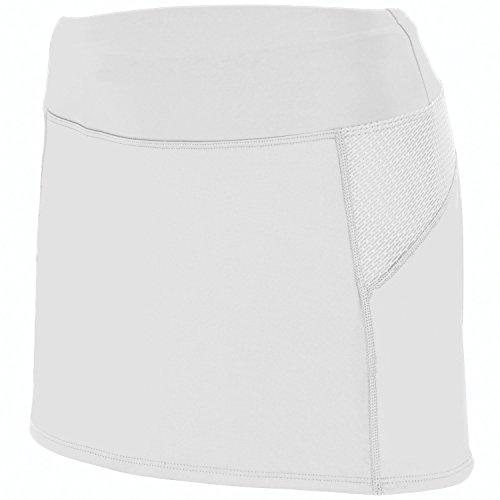 Augusta - Jupe de sport - Femme Blanc - Blanc/graphite
