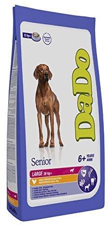 Crocchette per cani: DADO SENIOR LARGE BREED POLLO E RISO 3 KG