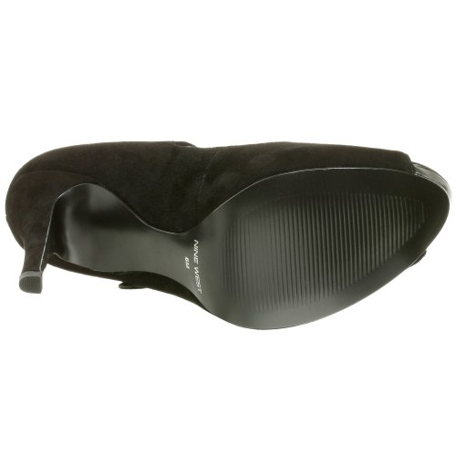 NINE WEST - Pumps - Scarpe Col Tacco Donna Punta Aperta NWLUMINOUS BLACK BLK Tacco: 11 cm Nero