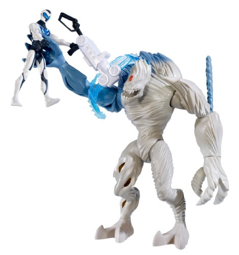 Mattel Max Steel - Battle Pack Mega contro Elementor Air Max Steel (CCY90)