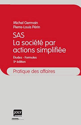 SAS - La société par actions simplifié, 5ème édition