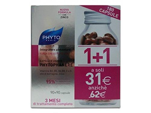 Phyto Phytophanere Integratore Alimentare Capelli e Unghie 90+90 Capsule
