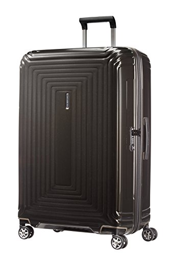 Samsonite Neopulse Spinner Suitcase, 75 cm, 94 L, Schwarz (Metallic Black)