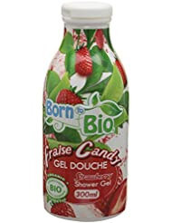 Born To Bio Gel Douche Fraise Candy 300 ml Lot de 2