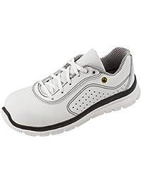 MaxguardDanel D036 - Zapatos de Seguridad Unisex Adulto, Color Blanco, Talla 38