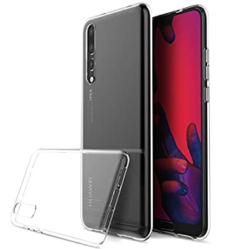 Huawei P20 Pro Case, Huawei P20 Pro Clear Case, [Fusion] [Clear] [Silicone Case] [Slim] [Phone Charm] [Gel Case] [Transparent] [Shock Absorption] [Compatible With Huawei P20 Pro Screen Protector Tempered Glass] 0