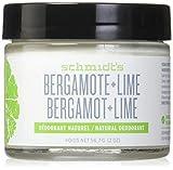 SCHMIDT'S Déodorant Bergamote & Citron Vert - 56.7g