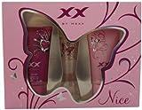 Mexx XX by Mexx Nice Geschenkset Eau de Toilette Vaporisateur / Natural Spray 20 ml, Shower Gel 50 ml, Wild Shower Gel 50 ml
