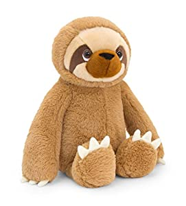 Keel Toys SW1818 Cecil The Sloth - Peluche de Peluche, Color marrón, 25 cm