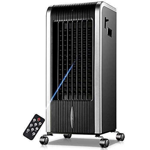 Czqlcyl Ventola Mobile per il condizionamento dell'aria: ventola per il riscaldamento e il raffreddamento, ventola per zanzare in movimento, telecomando LCD per piccoli condizionatori d'aria